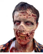 Schaumlatex Applikation Zombie