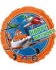 Folien Ballon Disney PLANES Happy Birthday