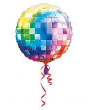 Foil Balloon Jumbo Disco Ball 81cm