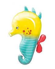 Folienballon Seepferdchen