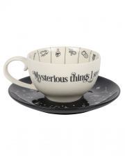 Fortune Telling Cup & Saucer