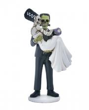 Frankenskull & Braut Figur 20cm