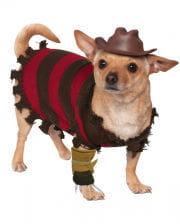 Freddy Krueger Hundekostüm