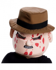 Freddy Krueger Maskottchen Maske