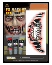 FX Make Up Kit Dämon mit Klebetattoo