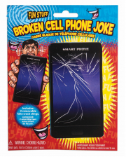 Gebrochener Handy Bildschirm Scherzartikel