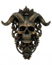 Horned Diabolus Door Knocker