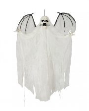 Ghost Phantom Hanging Figure With Wings