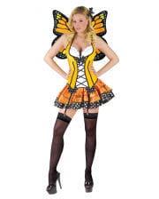 Gelber Schmetterling Kostüm