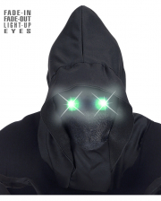 Faceless Mask With Bright Green Eyes