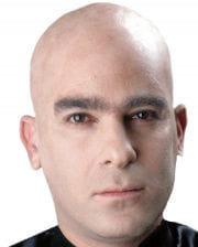 Glatzenfolie hautfarben