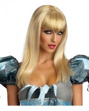 Blond Glitter Vamp Wig