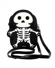Glitter Skeleton Handbag Vinyl