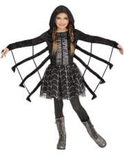 Glitter Spider Kids Costume