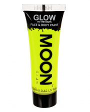 Glow In The Dark Make-up Neon Yellow