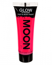 Glow in the Dark Make-up Neon Pink
