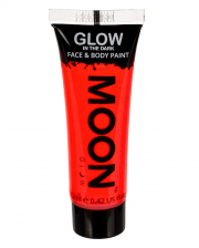 Glow in the Dark Make-up Neon Rot