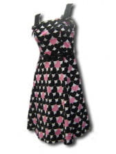 50ziger years Heart Dress