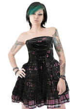 Corset with lace size L