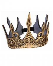 Gold Krone Costume Accessories