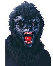 Gorilla Maske Schwarz