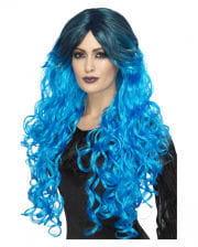 Gothic Glamor Lady's Wig Blue