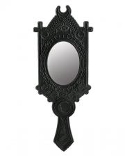 Gothic Hand Mirror With Zodiac Sign