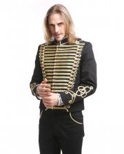 Gothic Parade Jacket Black Gold