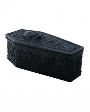 Gothic Sarg Box mit floralem Muster