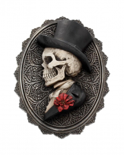 Gothic Skelett Gentleman Day of the Dead Wandbild