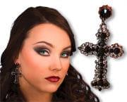 Gothic Ohrringe Kreuz