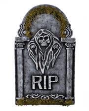 Gedenkstein Gevatter Tod mit Moos