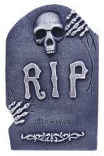 Grabstein mit Skeletthand