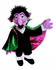 Count Number Hand Puppet 65 Cm
