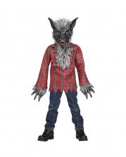 Grey Werewolf Child Costume