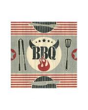 Barbecue Grillparty Servietten 20 Stück