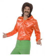 60s Disco Hemd orange