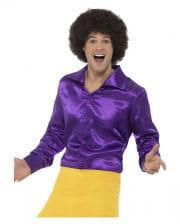 60s Disco shirt violet