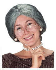 Grandma Wig With Knot