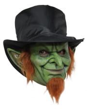 Kobold Maske grün