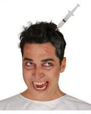 Syringe In Head Hair Circlet
