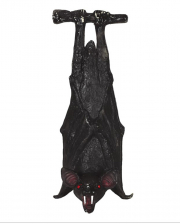 Hanging Bat Halloween Decoration 23cm