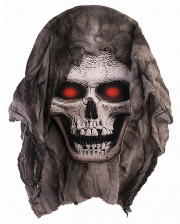 Skull Decoration With Fabric