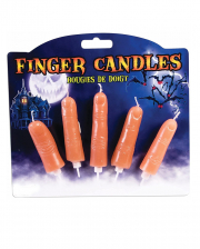 Halloween Finger Kerzen 5 St.