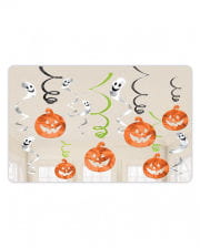 Halloween Pumpkin & Spirits Dekospiralen 12-tlg