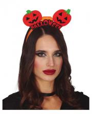 Halloween Kürbis Haarreif mit LED