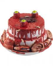 Blutige Halloween Torte