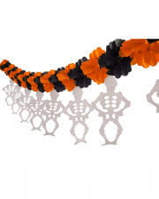 Halloween Skeleton Garland 3m