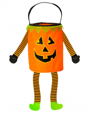 Candy Pumpkin Collection Bag For Halloween