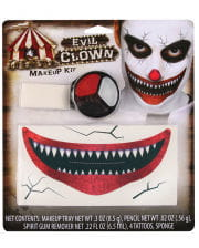 Killer Clown Make-Up Set